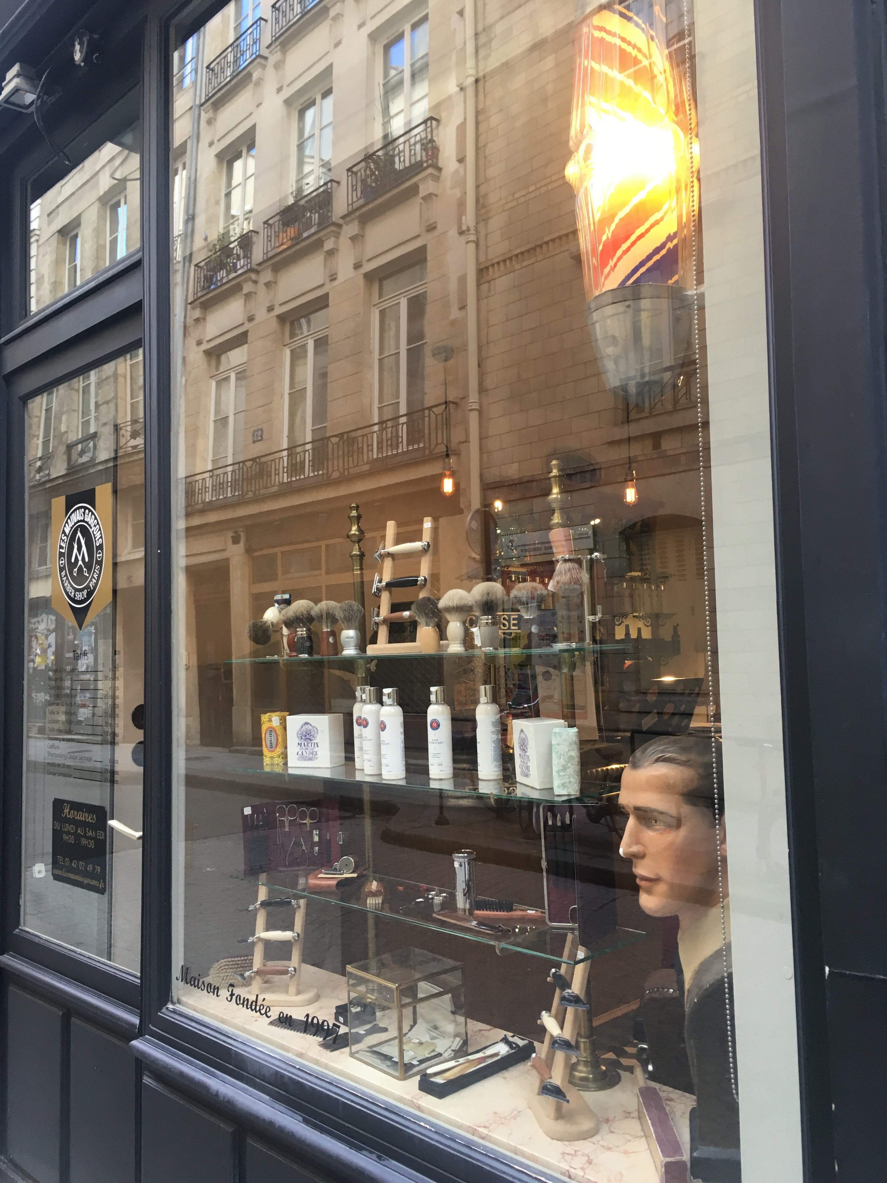 Spring Morning, Paris | Blog | Barber Shop | Moseley | Cambridge Writer