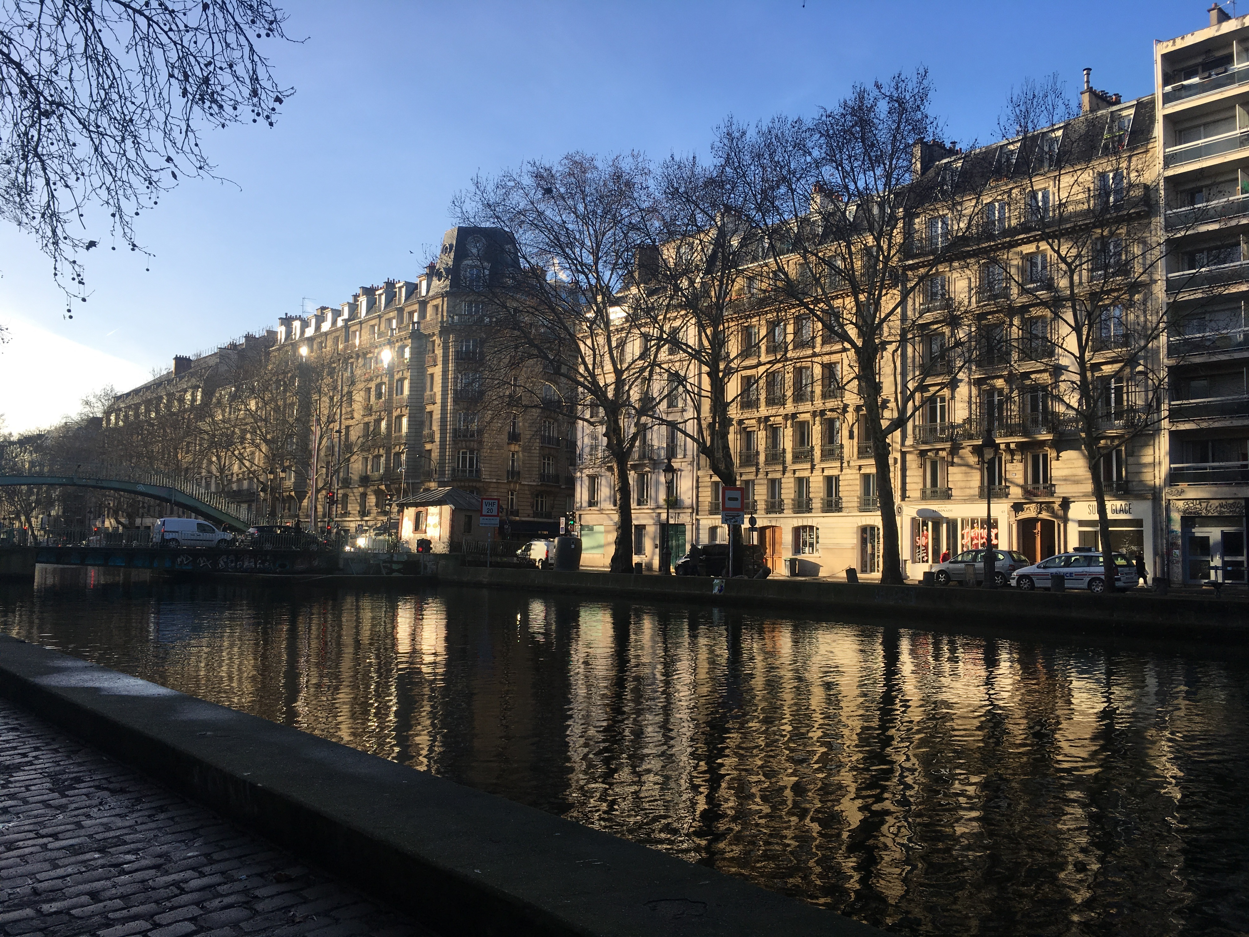 Morning in Paris | Blog | Canal Bridge | Moseley | Cambridge Writer