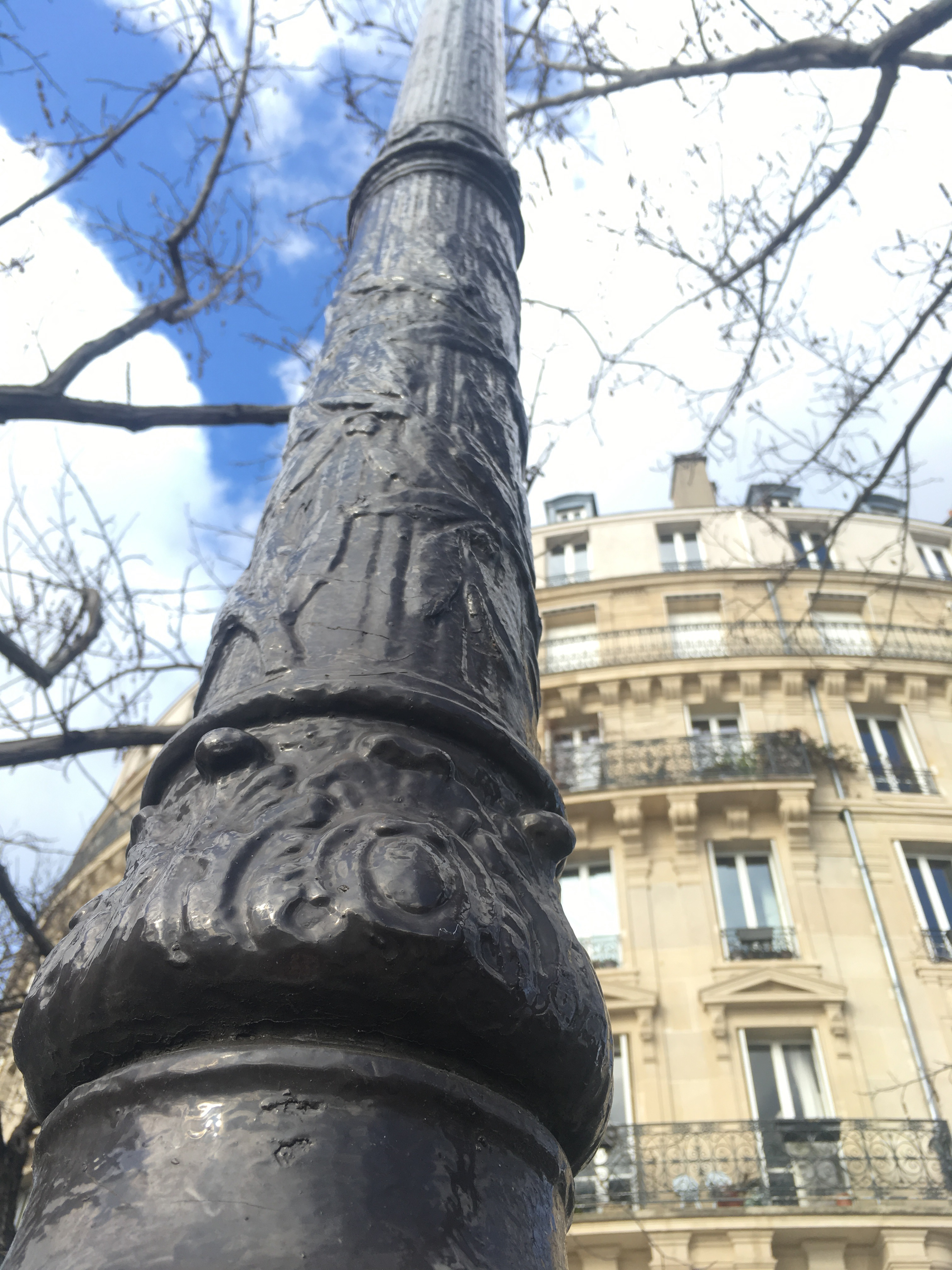 Spring Morning, Paris | Lampost | Blog | Moseley