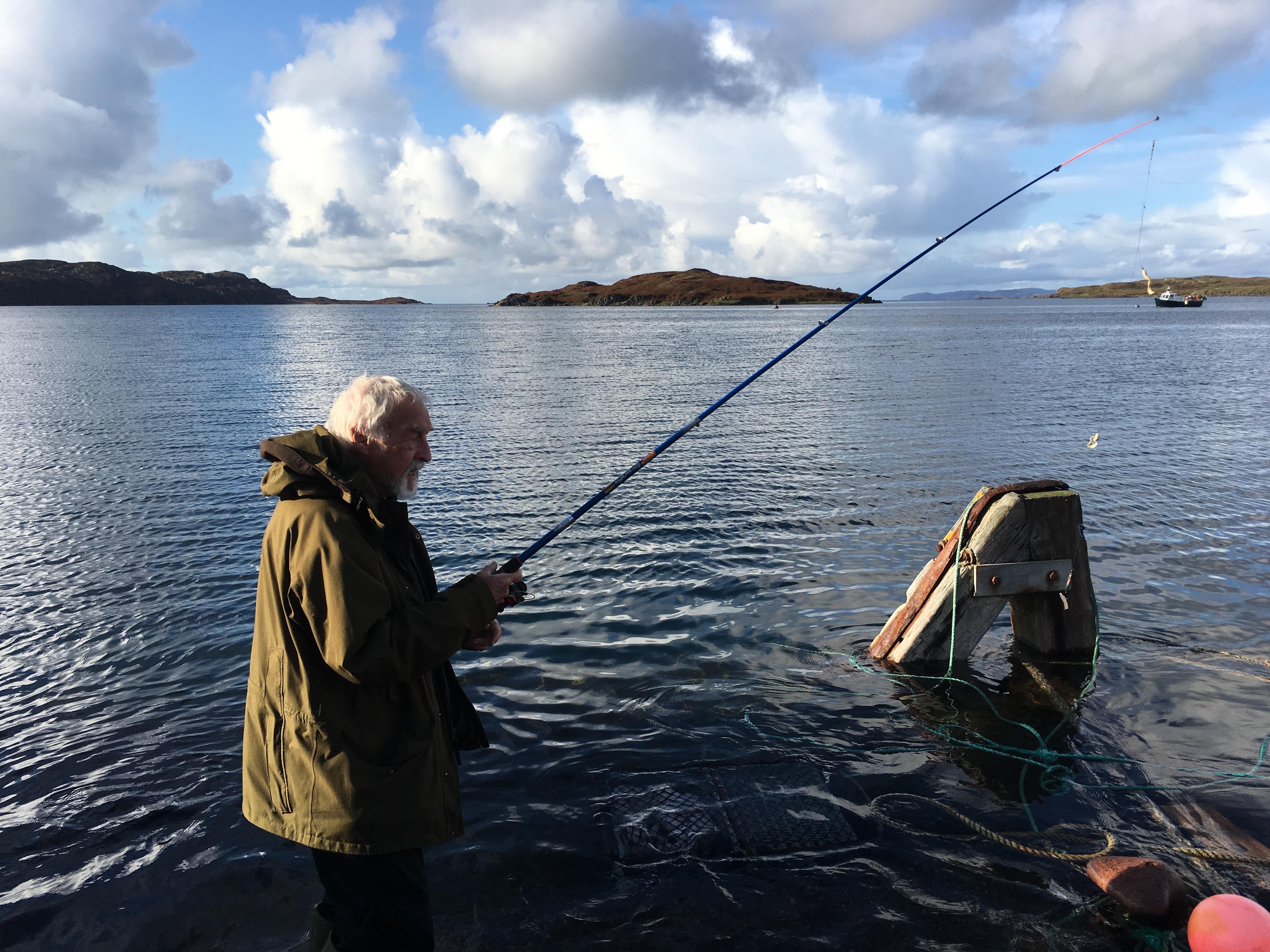 Charles Moseley | Iona Blog | Mull | Fishing | Mackerel | Columba | Cambridge Writer.