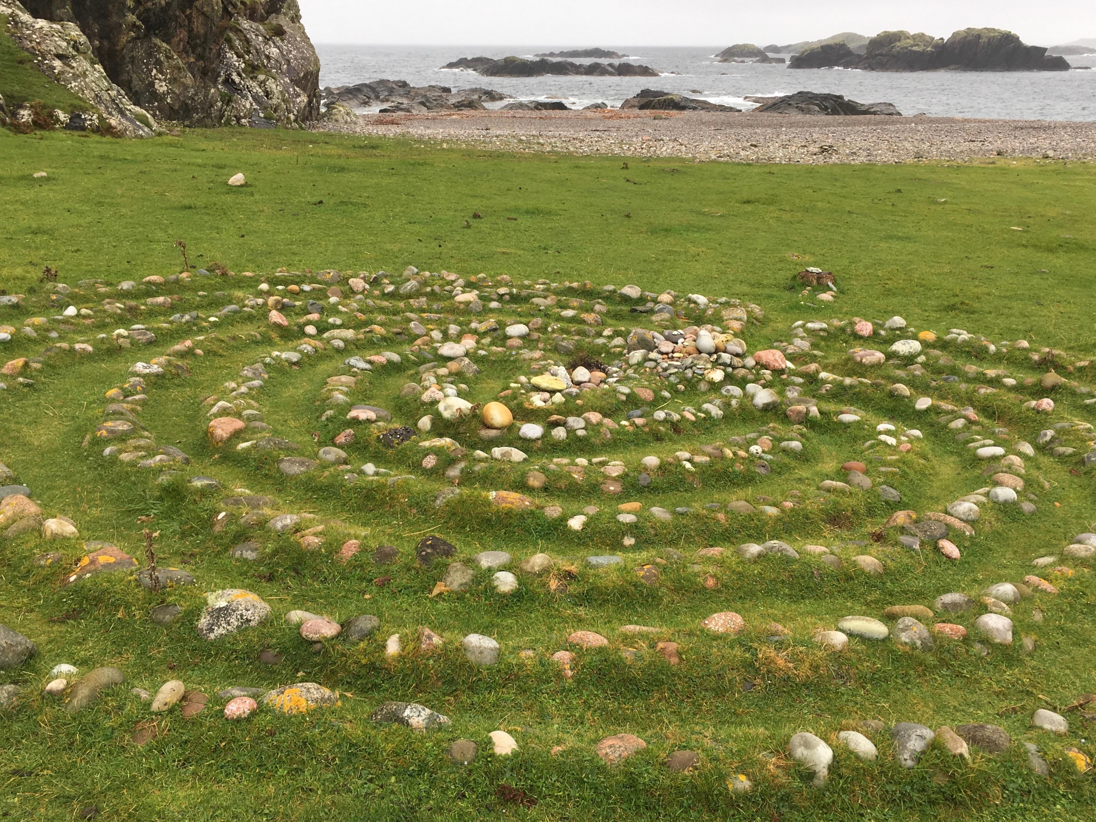 Charles Moseley | Iona Blog | labyrinth | Columba | Cambridge Writer